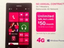 T-Mobile Nokia Lumia 521 Prepaid Smartphone