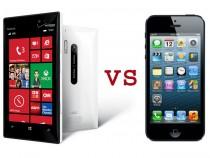 Nokia Lumia 928 vs. iPhone 5