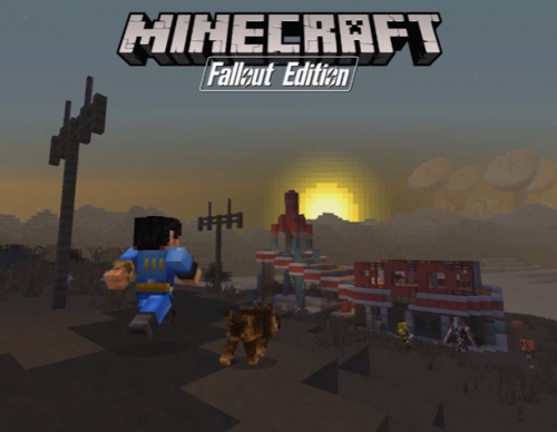 Minecraft Reveals Upcoming Fallout-Themed DLC