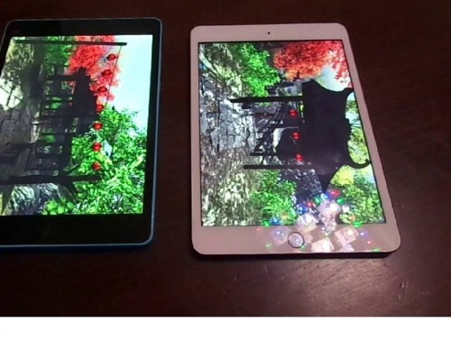 Xiaomi MI PAD vs IPAD Mini 3