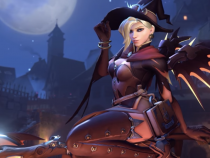 [Overwatch] Mercy witch skin animated wallpaper - 1440@60FPS