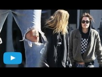 Kristen Stewart Gets Bruised Face And Knees On Date With Stella Maxwell