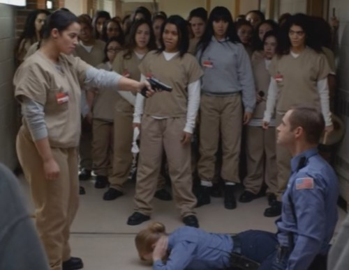 Orange Is The New Black: Will Daya Pull The Trigger?
