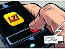 LingoZing teaches New Language Through Comic Books