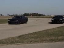 Supercar Beatdown: Dodge Challenger Hellcat vs Chevrolet Camaro ZL1