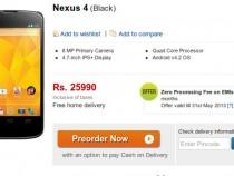 Nexus 4 Flipkart