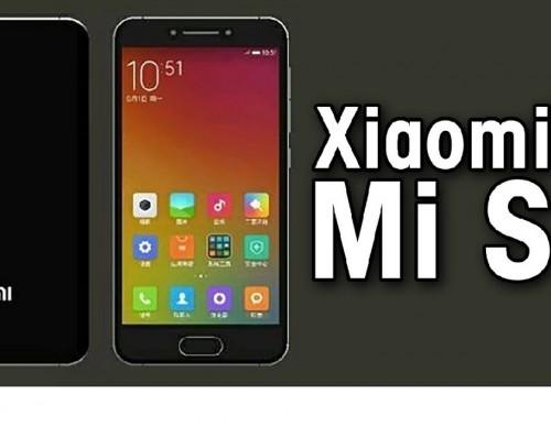 Xiaomi Mi S : 4.6-Inch Display, Snapdragon 821, 4GB RAM!