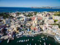 Procida, Aerial View, Naples
