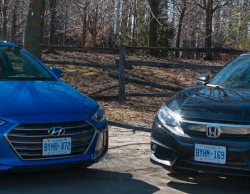 Battle Of Sedans: 2017 Honda Civic vs 2017 Hyundai Elantra