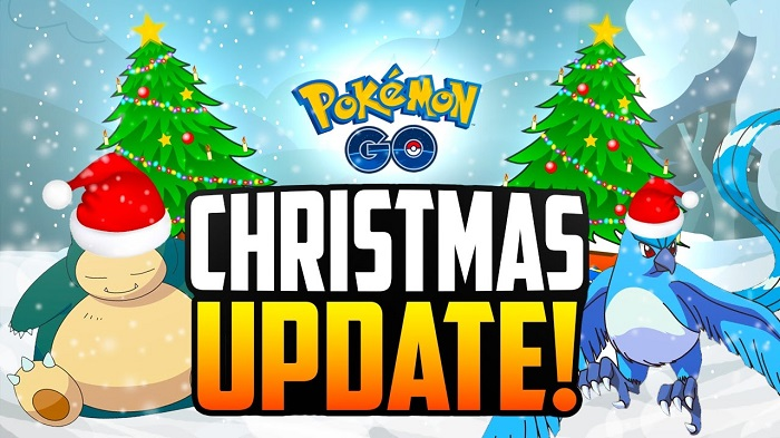 Christmas Update Pokemon Go.Pokemon Go Christmas Events Schedules Upgrades And Full