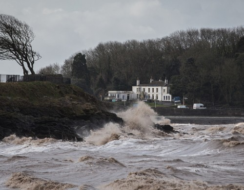 Storm Jake Arrives In The South West Of Britain