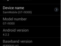 Samsung Galaxy S3 Android 4.2.2 With S4 Features