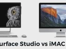 Microsoft Surface Studio vs. Apple iMac: Specs, Features & Power Showdown