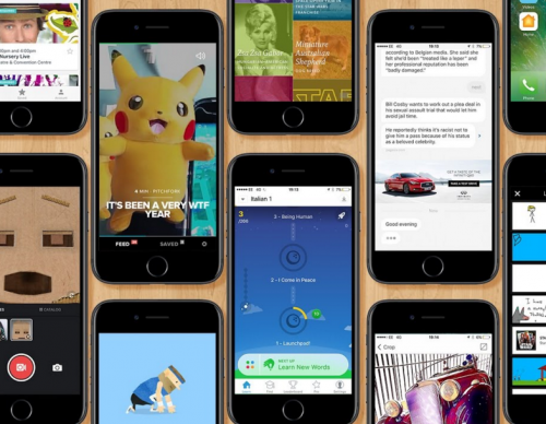 Top Mobile Apps Of 2016, Facebook And Google Dominate The List