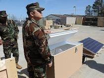 Navy Solar Refrigerator