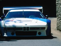 A view of the BMW M1 Procar