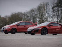 Honda Civic Type R vs NSX: Which Is Faster?