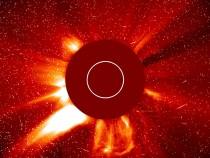 Major Solar Eruption On The Sun