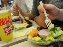 Wendys Launches Fast-Food Fruit