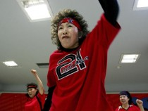 Elderly People Dance Hip-Hop In Beijing