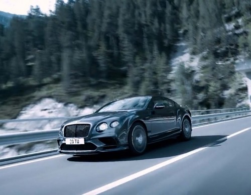 Bentley Continental Supersports Named As The World's Fastest Four-Seat Car