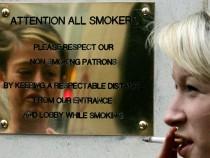 Ireland discourages cigarette smoking