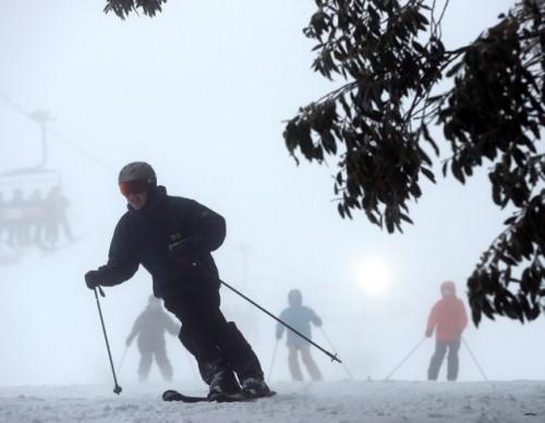 Snow Season At Mt Buller