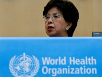 World Health Organisation (WHO) Director-General Margaret Chan