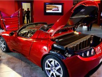 Tesla Motors LA Flagship Store Launch