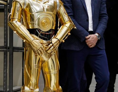 The Duke Of Cambridge And Prince Harry Visit The 'Star Wars' Film Set