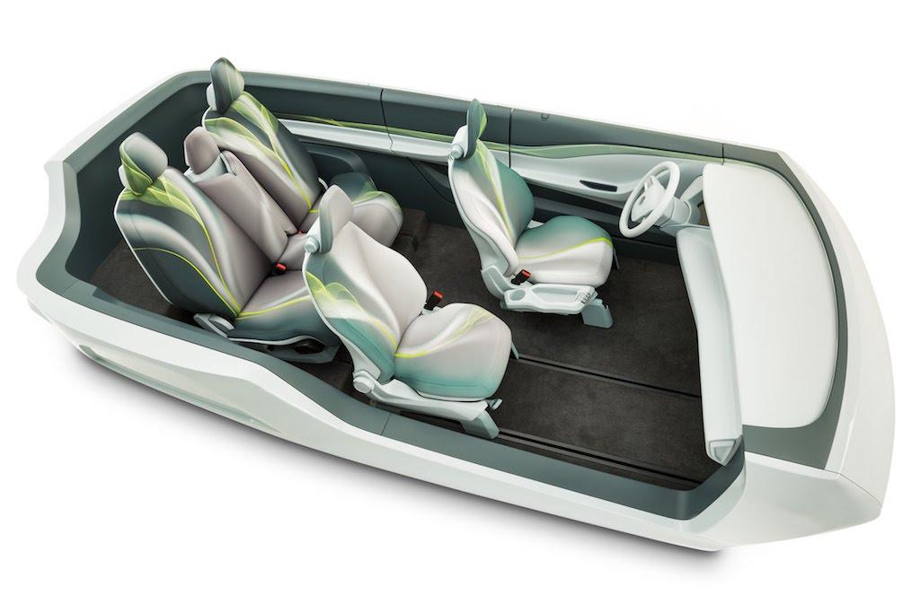 Adient Debuts Its Luxury Seats For Autonomous Cars At The Detroit Auto Show