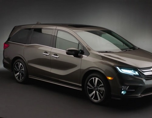 2018 Honda Odyssey Gets Major Updates