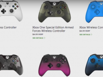 Two New Xbox One Controller Colors Unveiled By Microsoft
