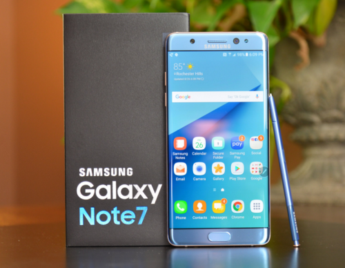 Samsung Galaxy Note 7 Update: More Than 96% Units Returned