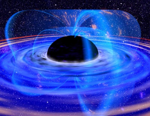 Astronomers Observe Black Hole