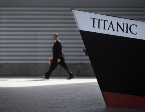 The Titanic Centenary Memorial Held At The Port Of Southampton
