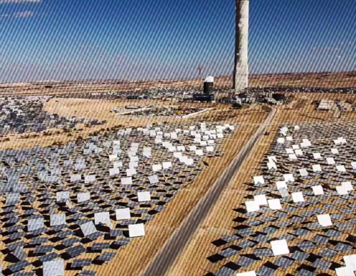LOOK: Israel Is Building the World's Tallest Solar Tower