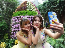 Opening Ceremony Of Tropical Orchid Exhibition Held In Wuhan