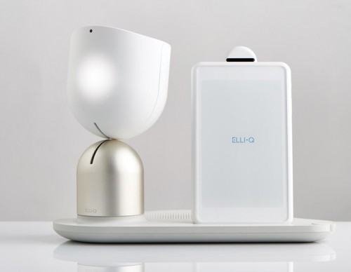 ElliQ Is The World's First Voice Activated Robot For Elderly