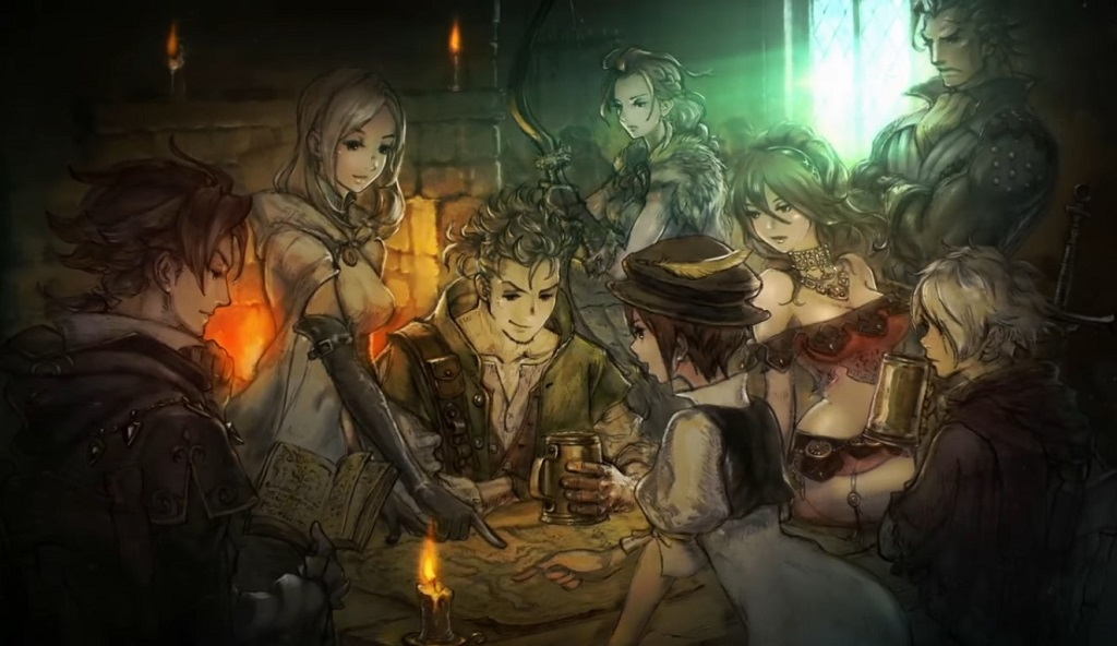 Square Enix Developing New RPG Project Octopath Traveler For Nintendo Switch; Four 'Dragon Quest' Games Confirmed For Switch