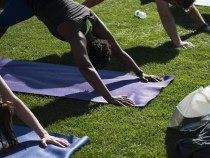Launch Of Fitbit Local Free Community Workouts In Minneapolis At Target Field