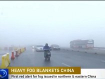 China issues first ever red alert for fog 2017