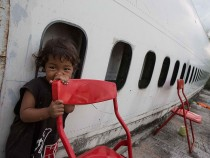 Airplane Graveyard Becomes Unlikely Home For Impoverished Families In Thailand