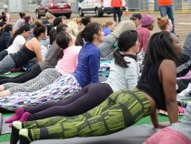 Launch Of Fitbit Local Free Community Workouts In Los Angeles At The Santa Monica Pier