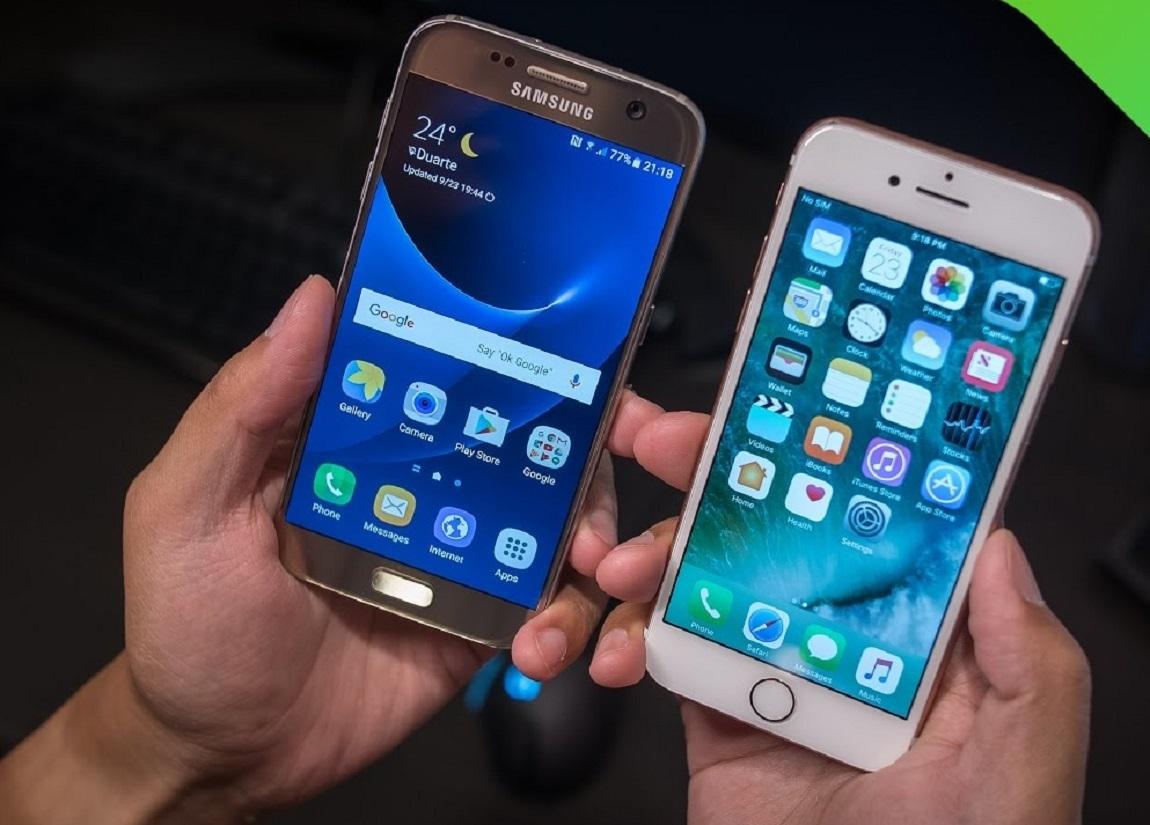 Samsung Galaxy S7 vs Apple iPhone 7