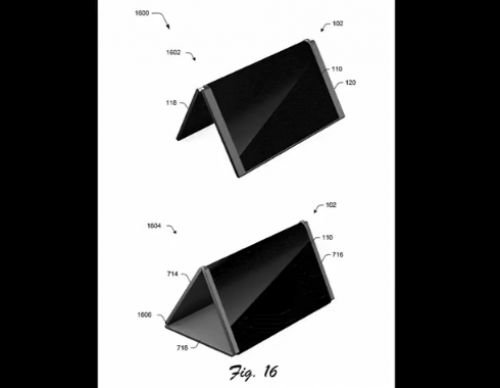 Alleged Microsoft Surface Phone Patent Reveals A Convertible Smartphone