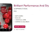 LG Optimus L7 II Dual Product Page