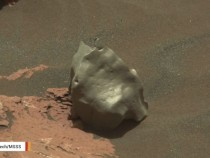 Mars Rover Spots A Potentially Rare Meteorite Made From Iron