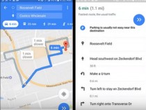 Google Maps Beta Now Displays Parking Availability