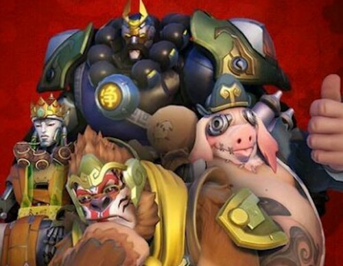 Overwatch Chinese New Year Skins Leaked Online